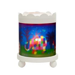 Manège lanterne magique - Elmer