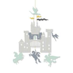 Mobile enveloppe - Château et dragons