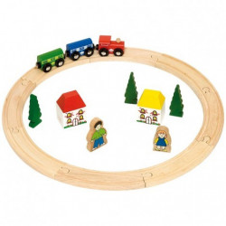 Mon premier circuit train en bois