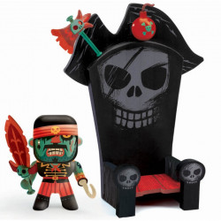Kyle & ze Throne - Arty toys Pirate