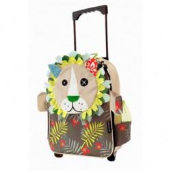 Valise trolley Jelekros le lion déglingos