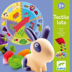 Educatif - Tactilo loto ferme