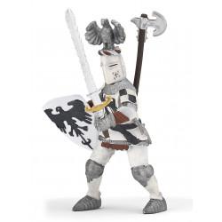 Chevalier blanc au cimier