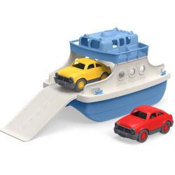 Bateau traversier avec deux voitures - Plastique r