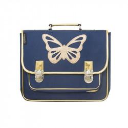 Cartable papillon bleu - Caramel & Cie