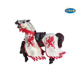 CHEVAL DRAGON ROUGE