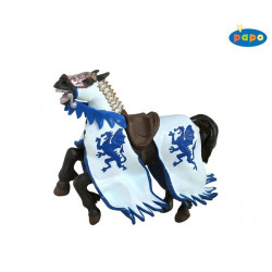 CHEVAL DRAGON BLEU