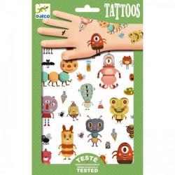 Tatouages - les monstres de wendy