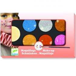 Maquilage - palette et accessoires 6 couleur effet