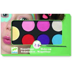 Maquillage - palette et accessoires 6 couleur swee