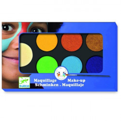 Maquillage - palette et accessoire 6 couleurs natu