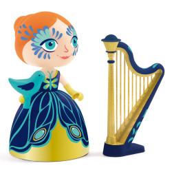 Arty toys - princesse - Elisa & Ze harpe