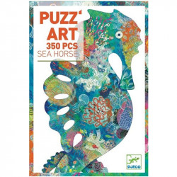Puzz art - sea horse - 350 pcs