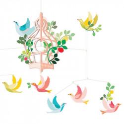 Mobile polypro - La cage aux oiseaux