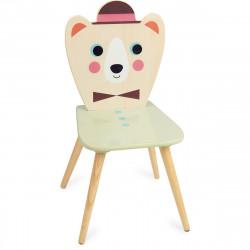 Chaise ours à chapeau Ingela