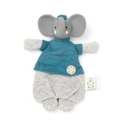 Hochet - Elephant Alvin - Naturel