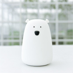 Veilleuse Little Big Ours Blanc