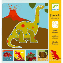 Pochoirs - Dinosaures
