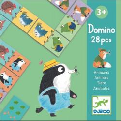 Domino animaux - Jeu éducatif