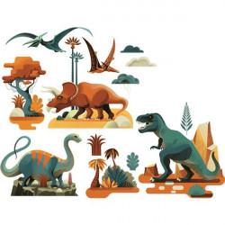 Stickers  de fenêtre - Dinosaures