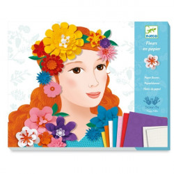 Kirigami - Tableaux Fleurs en papier