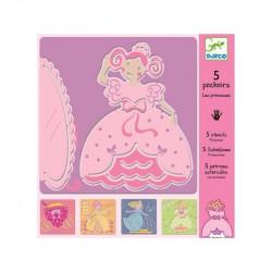 Pochoirs - Les Princesses