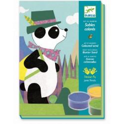 Sables colores - Panda et ses copains