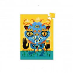 Mini puzzle le monstre 60 pcs