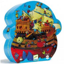 Puzzle - Bateau de barberousse - 54 pcs