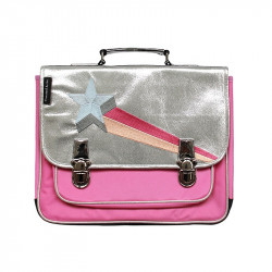 Cartable étoile filante rose - Caramel & Cie