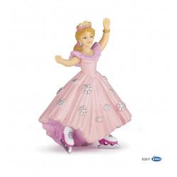 Princesse Rose aux Patins a glaces