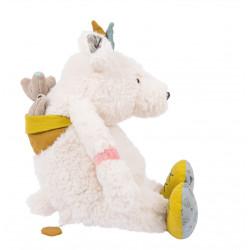 Poupée musique ours blanc Pom - Le voyage d Olga