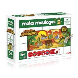 Mako Moulage - Le monde des Dinosaures