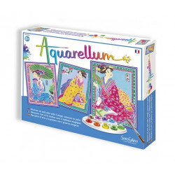 Aquarellum - Les Japonaises