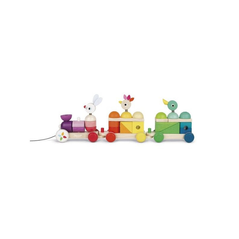 Train géant Multicolor - Zigolos