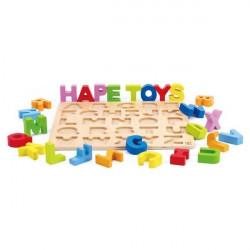 Puzzle alphabet majuscules