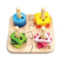 Puzzle a boutons creatif