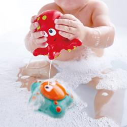 Fond océan - Jeu de bain