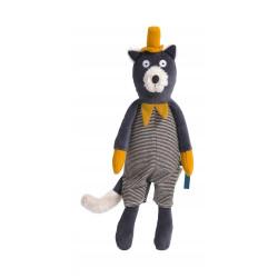 Poupée chat gris Alphonse - Les Moustaches