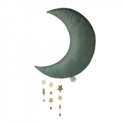 Picca loulou - Lune grise avec étoiles - 45cm