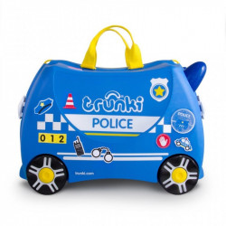 Valise à roulette Trunki Ride-on - Police