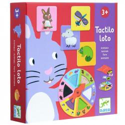 Jeu éducatif - Tactilo loto animaux