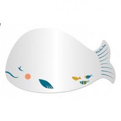 Miroir baleine - Le voyage dOlga