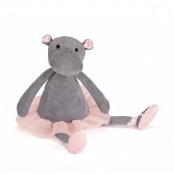 Peluche - Darcey l Hippopothame - 33 cm