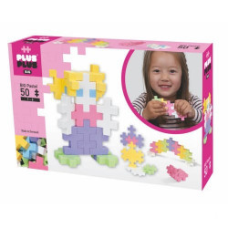 Plus Plus - Box big pastel 50 pcs