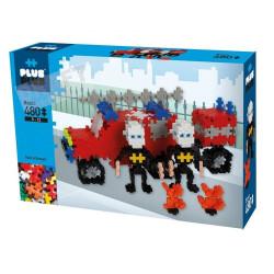 Plus Plus - Box basique - Brigade incendie 480 pcs