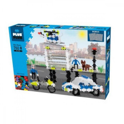 Plus plus - Box mini basic - Police - 760 pcs