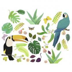 Sticker mural - Jungle