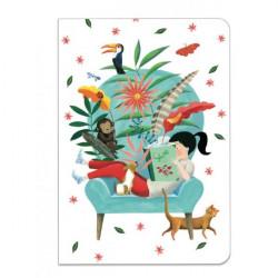 Duo petits carnets - Sticker Sarah