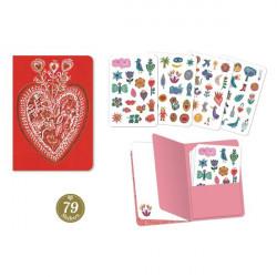 Duo petits carnets - Sticker Aurélia